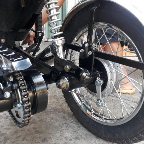 Dàn sau 3 bánh xe máy