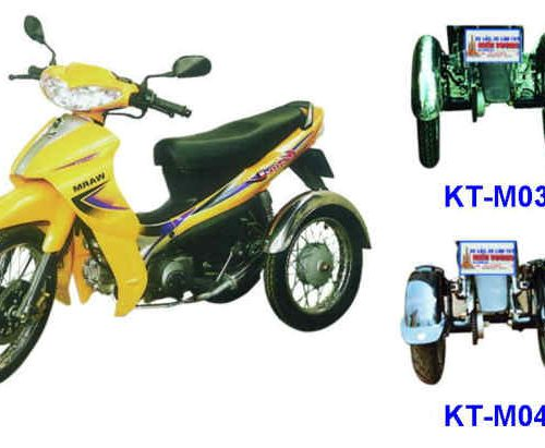 Two-Wheel Structures for Motorcycle